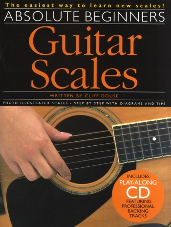 Absolute Beginners Guitar Scales: Guitar: Tutor: Bk&cd