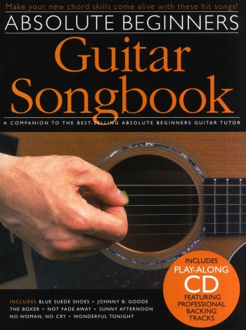 Absolute Beginners Songbook: Guitar: Book And Cd