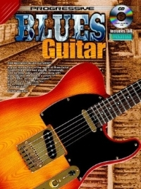 Progressive Blues Guitar: Book & CD (Gelling)