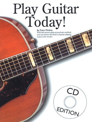 Play Guitar Today: 1: Guitar: Bk&cd