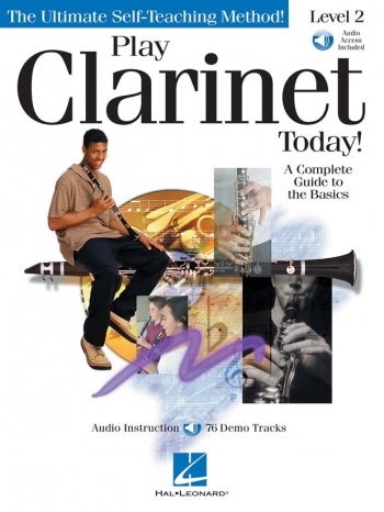 Play Clarinet Today: Book 2: Book & Cd