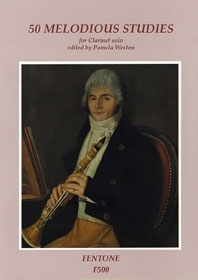 50 Melodious Studies: Clarinet Solo (Pamela Weston)