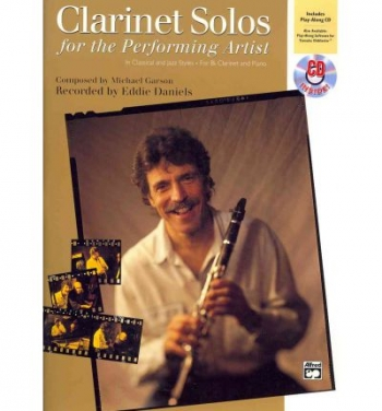 Clarinet Solos For The Performing Artist: Book & CD