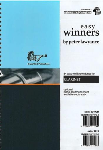 Easy Winners: Clarinet Part  (lawrance)
