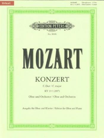 Concerto C Major K314: Oboe & Piano (Peters)