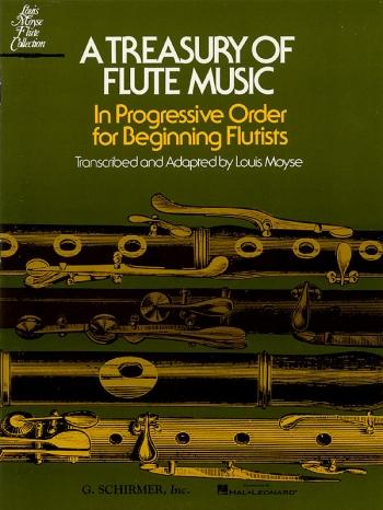 A Treasury Of Flute Music: Flute & Piano (moyse) (Shirmer)