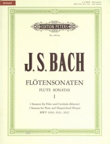 Flute Sonatas Vol.1 Bwv1030-Bwv1032: Flute & Piano (Peters)