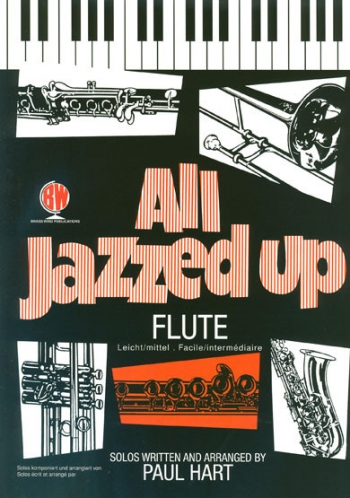 All Jazzed Up: Flute & Piano Book & Cd (Hart)(Brasswind)