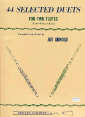 44 Selected Duets: Flutes
