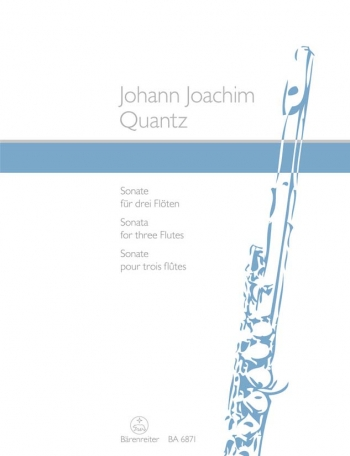 Sonata For Three Flutes (Barenreiter)
