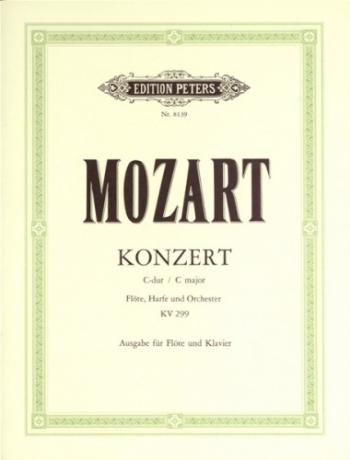 Concerto C Major K299: Flute & Piano (Peters)