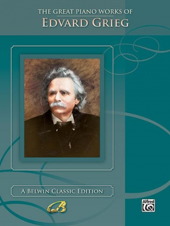 The Great Piano Works Of Edvard Grieg  (Alfred)