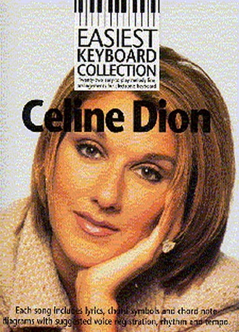 Easiest Keyboard Collection Celine Dion