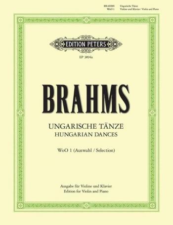 Hungarian Dances: Violin & Piano (Peters)