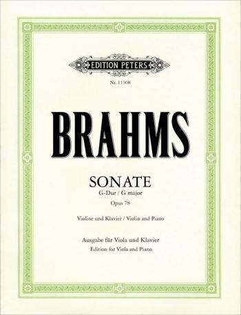 Sonata G Major Op.78: Violin & Piano (Peters)