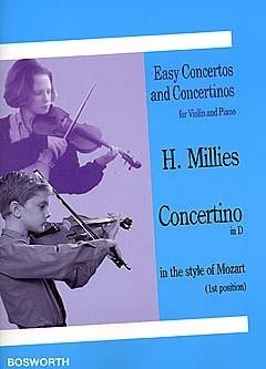 Concertino: D: In The Style Of Mozart: Violin and Piano