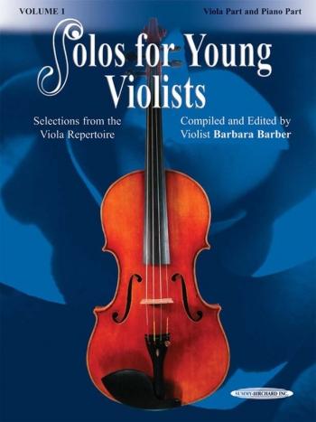 Solos For Young Violists: Vol1: Viola & Piano