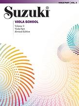 Suzuki Viola School Vol.3 Viola Part (Revised)