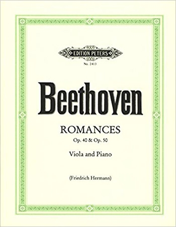 Romances: Op.40 and Op.50: Viola and Piano (Peters)