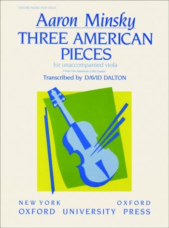 3 American Pieces: Viola