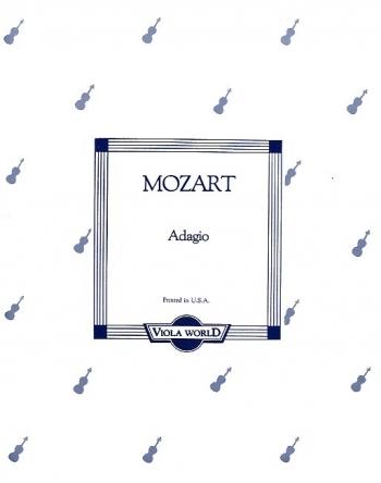 Adagio: K261: Viola and Piano