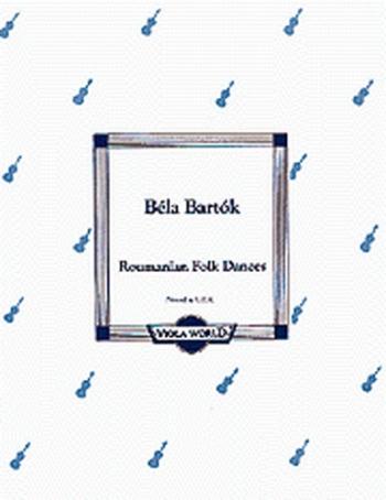 Romanian Folk Dances: Viola and Piano