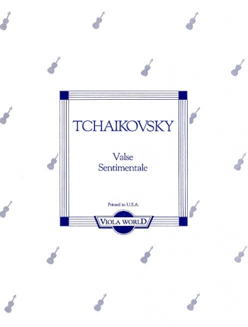 Valse Sentimentale: Viola and Piano (Viola World)
