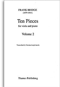 10 Pieces: Vol.2: Viola And Piano (Thames)
