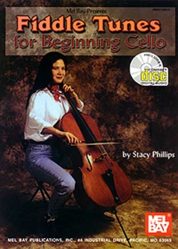 Mel Bays Fiddle Tunes and Irish Music For Cello: Book & CD