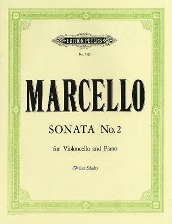 Sonata E Minor OP. 2 No 2: Cello & Piano (Peters)