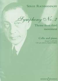 Theme From The Third Movement: From Symphony No.2: Cello (Boosey & Hawkes)