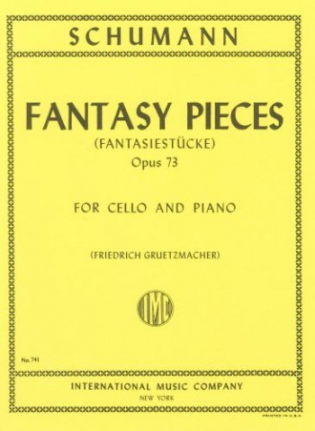 Fantasy Pieces: Op73: Cello (International)