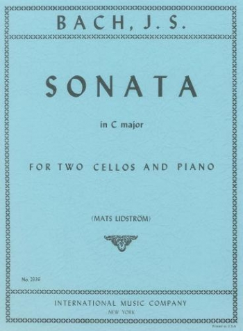 Sonata C Major: Cello Duet (International)