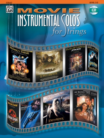 Movie Instumental Solos For Cello: Book & CD