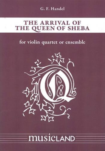 Handel: Arrival Of The Queen Of Sheba: 4 Violins