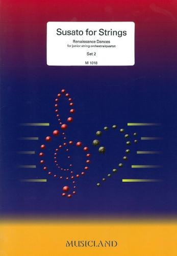 Susato For Strings: 2: String: Score and Parts
