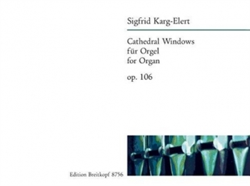 Cathedral Windows: Op106 Organ  (Breitkopf)