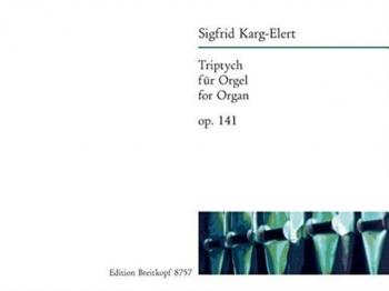 Triptych: Op141 Organ  (Breitkopf)