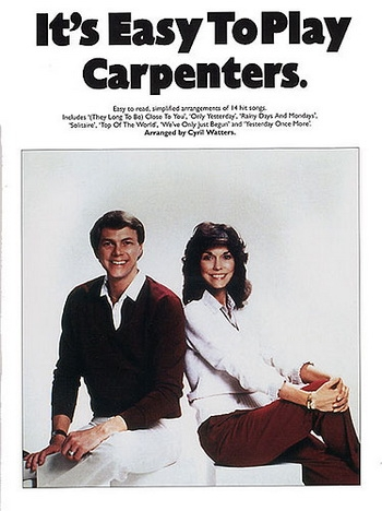Its Easy To Play Carpenters: Easy