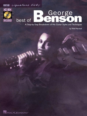 Signature Licks: Gerge Benson: Guitar: Book & Cd