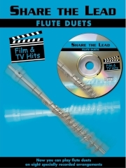 Share The Lead Chart Hits: Film and Tv Hits: Flutes Book & CD