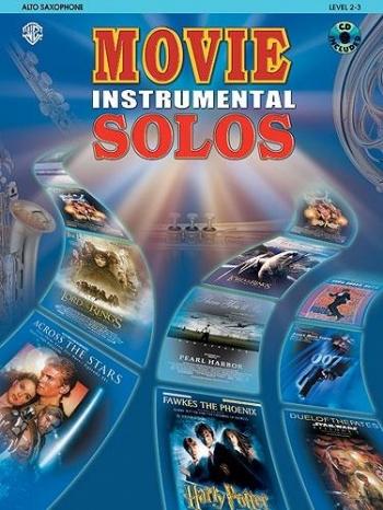 Movie Instrumental Solos: Alto Sax: Book & CD