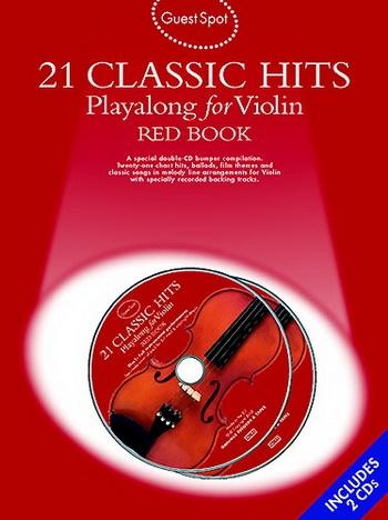 Guest Spot: 21 Classic Hits: Red Book: Violin: Book & CD