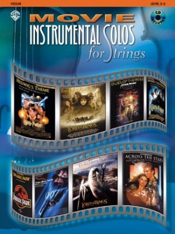 Movie Instrumental Solos: Violin: Book & CD