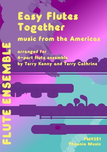Music From The Americas:  Easy Flute Ensemble