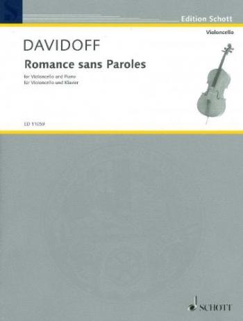 Romance Sans Paroles: Cello & Piano  (Schott)