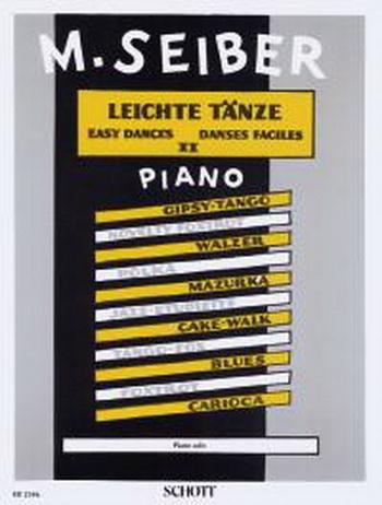 Easy Dances: Book 2: Piano (Schott Ed)