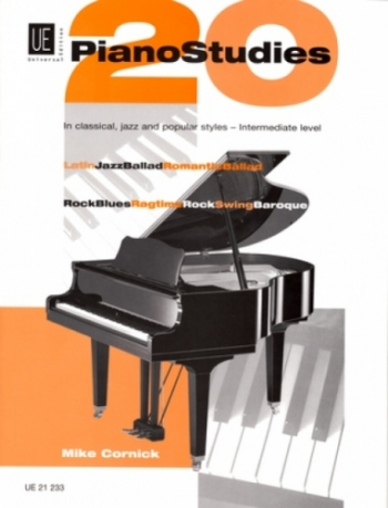 20 Piano Studies: Intermediate Level (Mike Cornick)