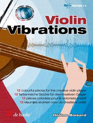 Violin Vibrations: Position1-4: Violin: Book & Cd (boisard)