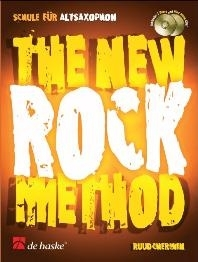 The New Rock Method: Alto Sax: Bk&cd